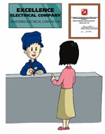 Registered Electrical Contractors and Workers