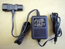 AC adaptors for the external speaker sets supplied with HP desktop computers.