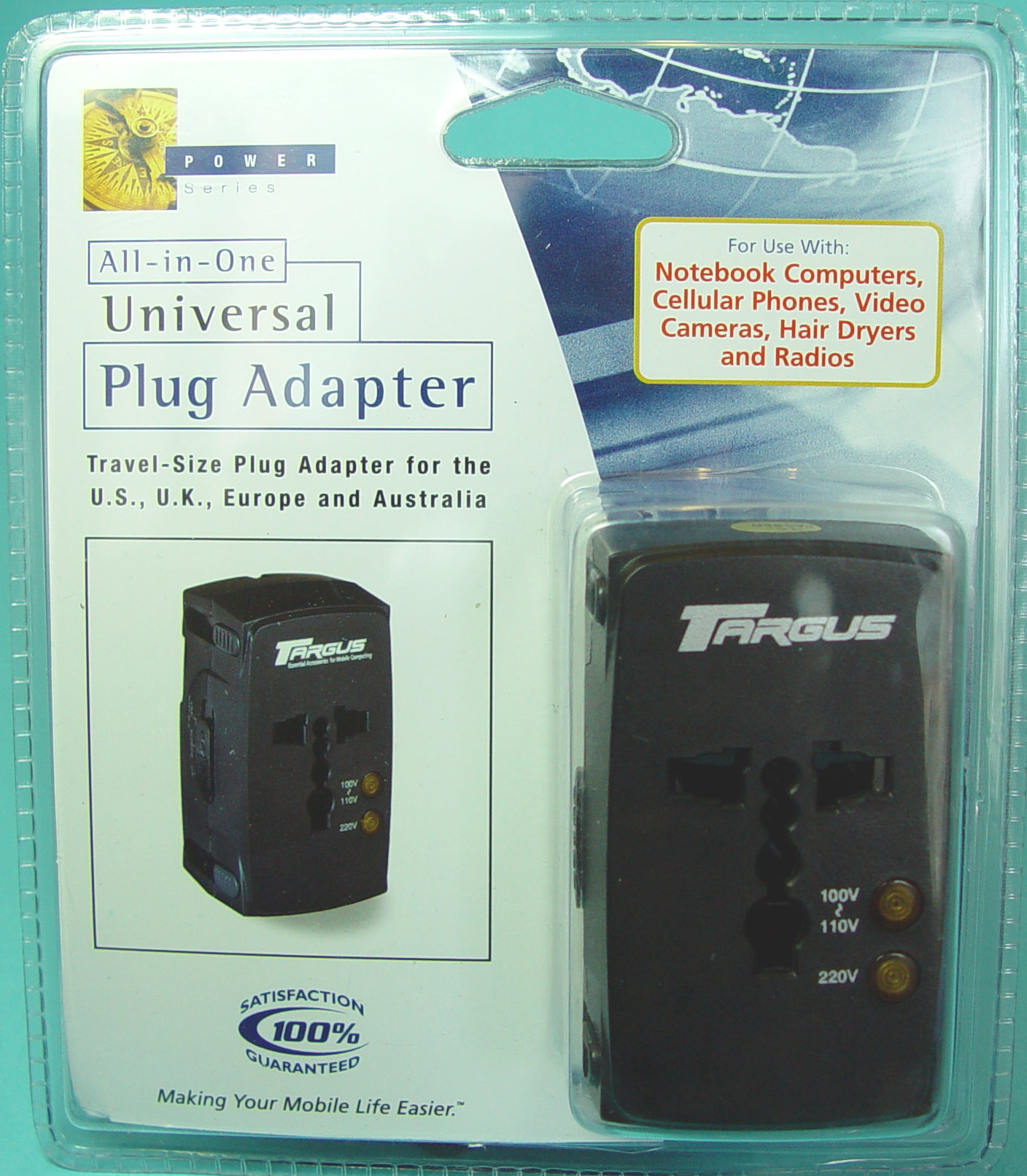 """Targus"" universal adaptors (model no. PA033 followed by B, U, C, E, BX, Y001X or Y002X)"
