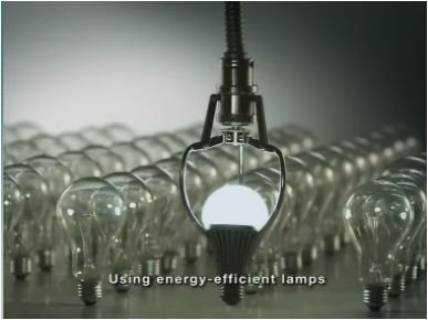 Using Energy-Efficient Lamps